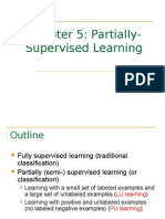 CS583 Partially Supervised Learning