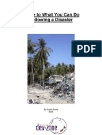 What Can You Do-Disaster Guide