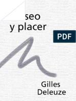 Deleuze Gilles - Deseo Y Placer