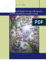 World Bank Group Response to the Global Economic Crisis (Phase II)