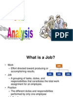 Hrm Job Analysis Lecture 4