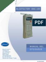 BAC100 Manual