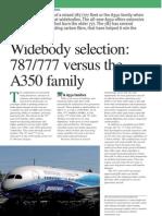 787-777 vs 350