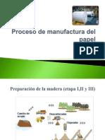 Proceso de Manufactura Del Papel