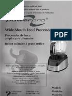 Black and Decker FP2500 Food Processor