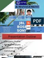 Jbl Bose Sony
