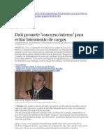 Dnit Promete 'Concurso Interno' Para Evitar to de Cargos