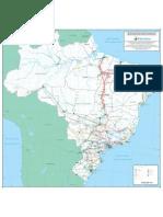Mapa do Sistema Elétrico Brasileiro - Configuração 2019