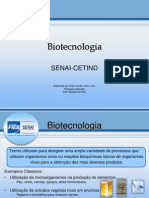 SENAI - Biotecnologia