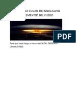 ELEMENTOS DEL FUEGO