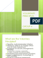 Vloluntary Principles on Security Human Rights