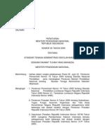 STANDAR TENAGA ADMINISTRASI SEKOLAH/MADRASAH