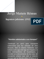 Ing Jorge Matute Remus