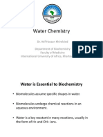 Water Chemistry 2012