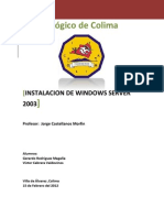 Instalar Windows Server 2003