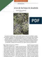 Usos fitoterapéuticos de la alcachofa