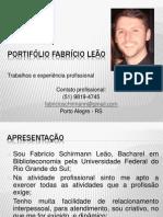 Portifólio Fabrício Schirmann Leão