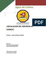 Instalacion Del Servidor de Correo