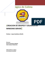 Usuarios y Grupos Windows Server 2003