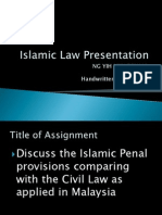 Islamic Law Presentation