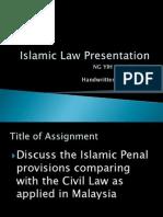 Islamic Law Presentation