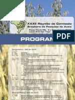 Programa-aveia.26 março 2012