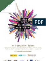 Cartel Oficial de los Días Europeos