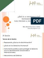 ¿Qué es la discriminación? Instrumentos jurídicos para prevenir la discriminación