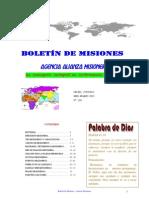 BOLETIN DE MISIONES 27-03-2012