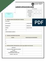 Yayasan Proton 2012 Application Form