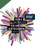 Días de la artesanía 2012 logo