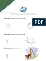 Exercício-Teorema de Pitágoras