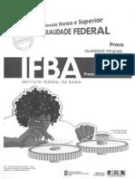 Prova do IFBA 2010