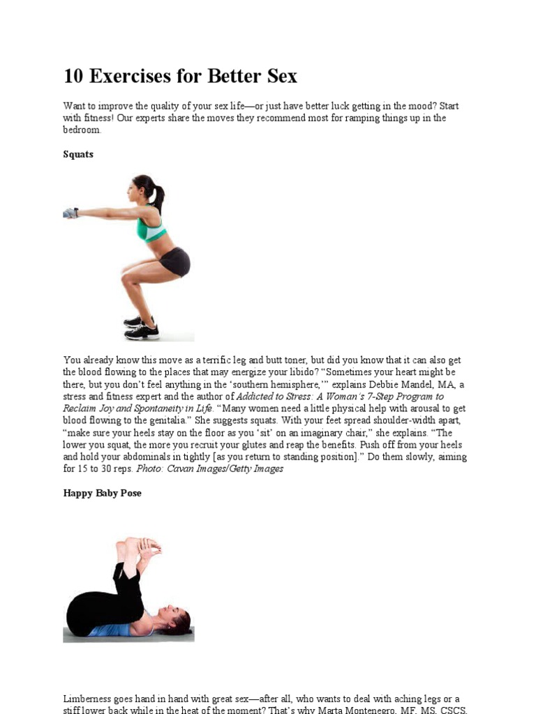 exercises that improve sex