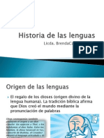 Historia de Las Lenguas