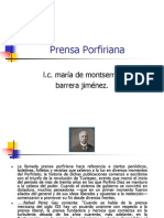 Prensa Porfiriana