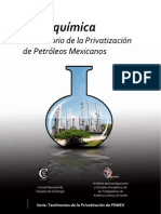Petroquimica Lab Oratorio de La Privatizacion de Petroleos Mexicanos