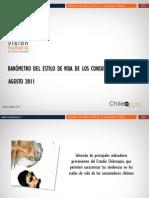 01 Barometro Del Estilo de Vida de Los ores Chilenos