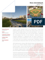 Reno Aces AAA Ballpark - landscape design & installation overview