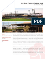 Salt River Fields at Talking Stick - landscape installation overview