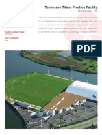 Tennessee Titans Practice Facility - landscape installation overview