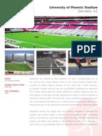 University of Phoenix Stadium - landscape installation overview