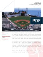 AT&T Park - landscape installation overview