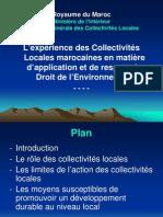 Presentation Maroc