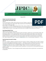 JPIC Newsletter March 2012