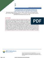 Bio Activity Antioxidants Extrusion