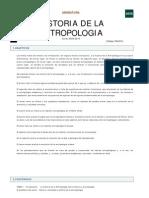 Historia de La Antropologia 594074