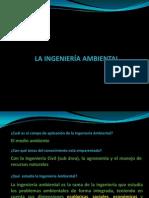 CLASE 01-La ingeniería ambiental