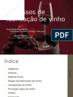 Processos de fabricação de vinho