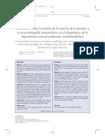 6 Correlacion Entre 6MWT y Ecocardiografia Transtoracica